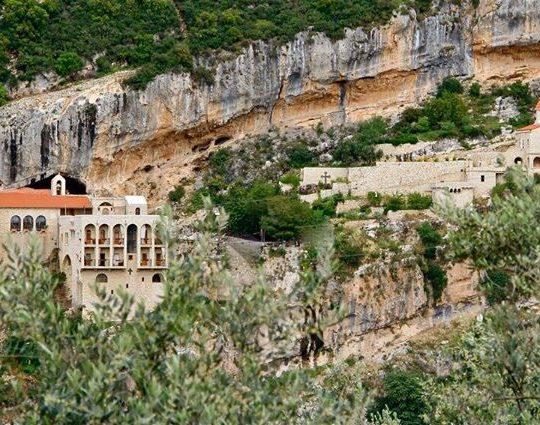 Hamatoura Monastery by Ali Badawy