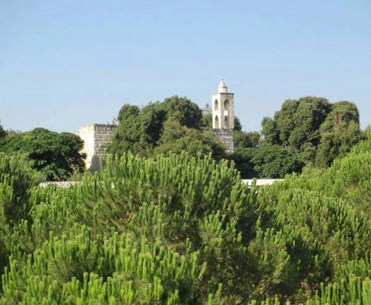 كنيسة مار يوحنا المعمدان بين بشمزين و كفرحزير