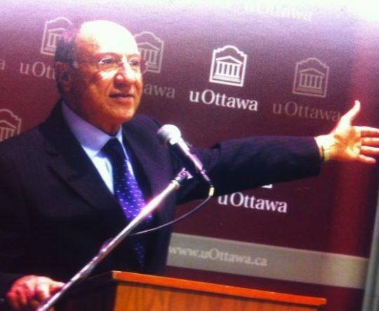 جائزة ملكة كندا للبروفسور اللبناني الأصل عبدالله عبيد ابن أميون