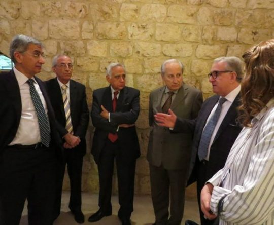 البطريرك يازجي مفتتحا مؤتمر عن البطريرك الراحل هزيم في البلمند