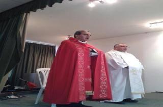 قداس لكاريتاس الكورة على نية المحسنين لمناسبة الميلاد ورأس السنة