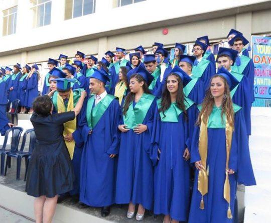 تخريج طلاب الانترناشونال سكول