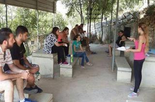 افتتاح مخيم والدة الاله في حركة الشبيبة الارثوذكسية في كفتون