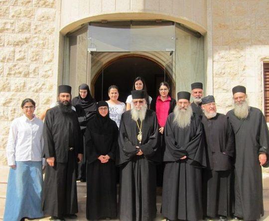 زيارة الارشمندريت تيخن لابرشية طرابلس و الكورة