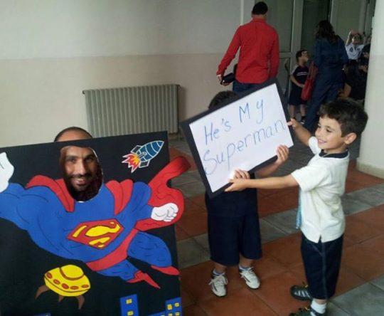 نشاطات لأطفال الحضانة بمناسبة عيد الأب في مدرسة البلمند الفرع الإنجليزي