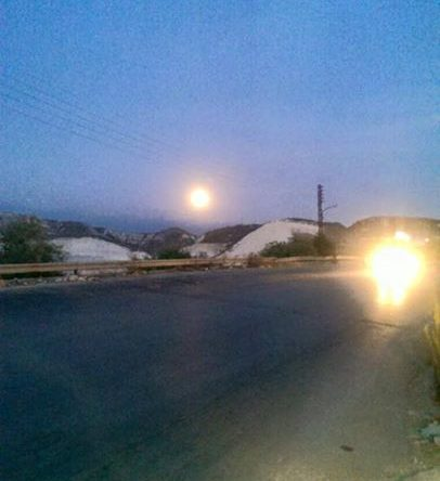 سيتحول لون قمر الكورة الى احمر بعد منتصف ليل اليوم.