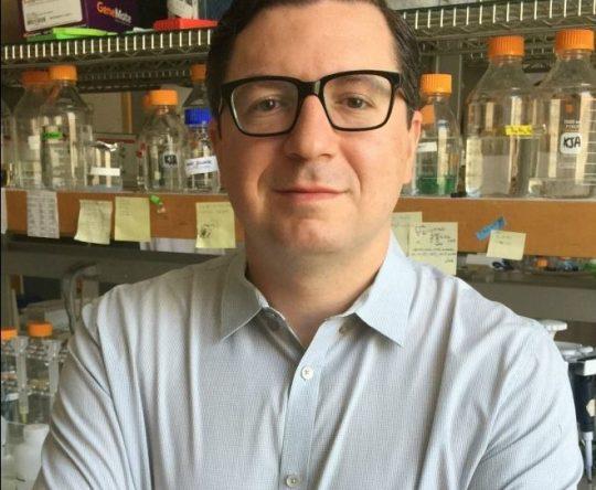 """د. كريم-جان أرمش لبناني من بدبا الكورة حاز على منحة """"مؤسسة ديفيد ولوسيل باكارد"""""""