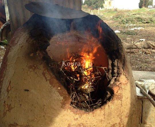 خبز التنور في الكورة مشهد فريد تفوح منه رائحة الماضي البعيد