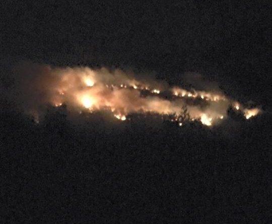 الكورة كوسبا – اندلاع النيران في جبل كرمسده – مار جرجس الان