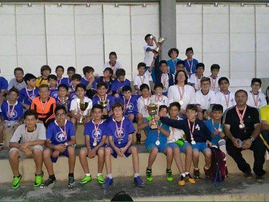 دورة في كرة القدم في مدرسة انترناشونال سكول الكورة