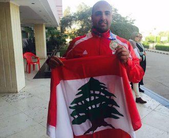 ابن كفرعقا ألان ابراهيم موسى بطل لبنان في الرماية على الأطباق يمثل بلاده عالمياً ويحصد الميداليات