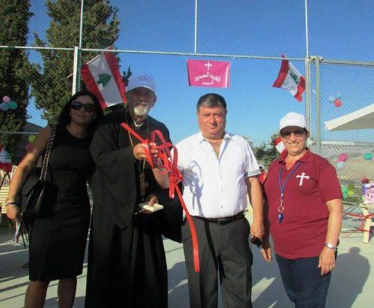 تمّ افتتاح ملعب مارسركيس وباخوس بمباركة الاب الياس نصار وحضور رئيس بلدية أميون المهندس مالك فارس