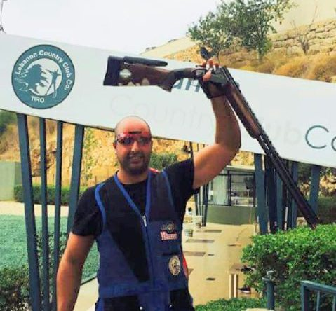 تصدر إبن كفرعقا ألان ابراهيم موسى المرحلة الرابعة من بطولة الرماية على الأطباق واقترب من حسم بطولة لبنان ٢۰۱٦