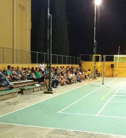 انطلاق المهرجان الرياضي في كرة الطائرة في أميون من تنظيم النادي الثقافي الرياضي ونادي شباب أميون الرياضي من ٩ الى ۱٢ آب
