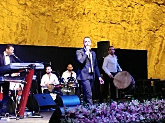 حسين الديك ألهب جمهور مهرجان أميون التراثي في يومه الأول