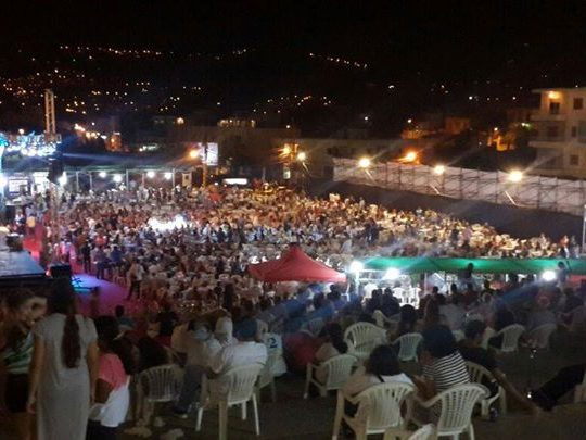 نور الحاج عبيد ولّعت الليلة الاخيرة من مهرجان أميون التراثي