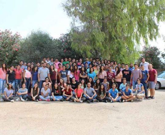 """""""الانفتاح"""" عنوان مخيم الثانويين من مركز طرابلس ومن فروع بلدات الكورة في بشمزين"""