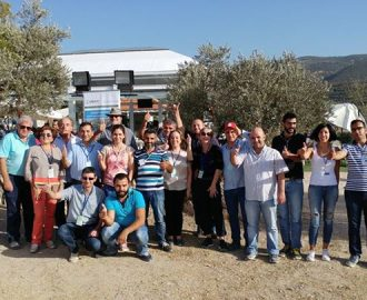 مهرجان قطاف الزيتون الأول في داربعشتار سحر الزوار وكان سياحية زراعية تثقيفية بامتياز