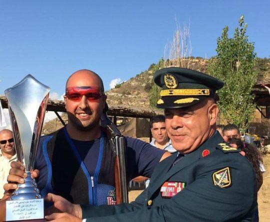 فوز الشاب آلان موسى ابن كفرعقا ببطولة الجيش في الرماية بالإضافة الى كونه بطل لبنان للسنة الثالثة على التوالي
