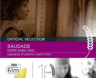 دوريس سابا ابنة عفصديق الكورة تشارك في مهرجان جامعة اللويزة العالمي للأفلام القصيرة