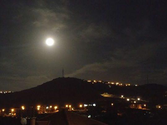 """الكورة- """"القمر العملاق"""" أو Supermoon ينير ليلتنا"""