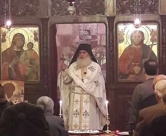 من سهرانية عيد القديس نيقولاوس في رعية أميون