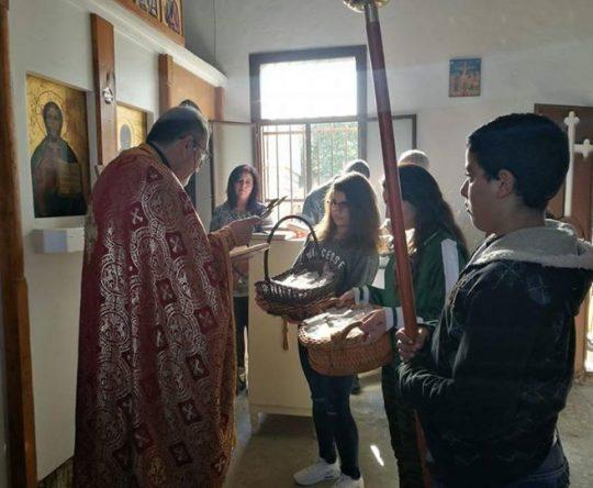 أميون – قداس عيد البربارة في كنيسة القديسة بربارة