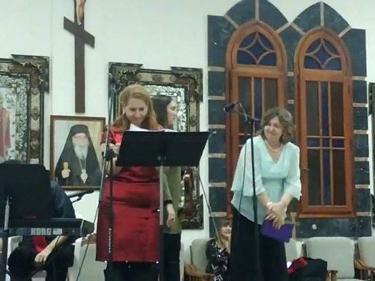 الملائكة هللت للميلاد مساء اليوم في قاعة كنيسة مار إلياس عابا