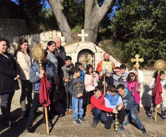 عيد القديس انطونيوس الكبير في رعية كفتون