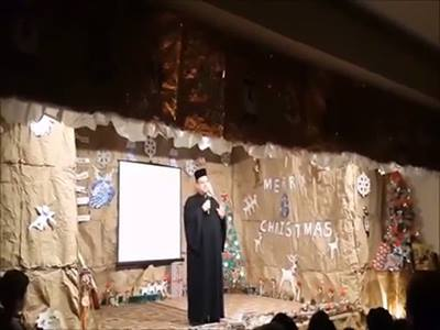 بهذا الفيلم عيدت رعية بصرما قدس الأب رومانوس خولي بعد مرور سبع سنين على رسامته كاهنا. الى سنين عديدة!