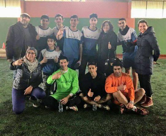 مبروك فوز ثانوية أميون الرسمية على ثاوية كفرعقا بمباراة النصف نهائي ضمن بطولة المدارس بنتيجة  ٥-١
