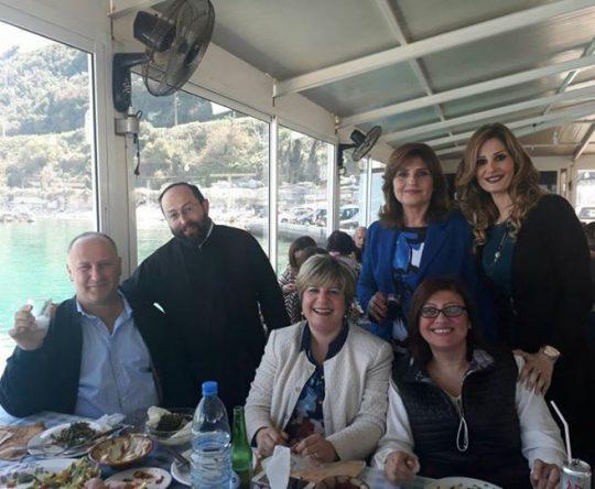 بمناسبة عيد البشارة اقامت رعية كفتون غداء في مطعم ابو غسان شكا الهري